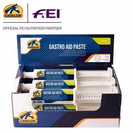 Estomac Cheval Cavalor Gastro Aid Paste Boite 6 seringues