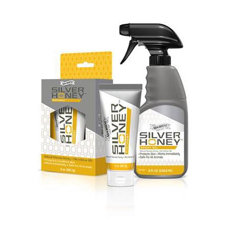 Plaie Cheval Absorbine Silver Honey