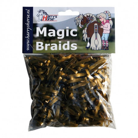 Elastiques plats à natter - Magic Braids