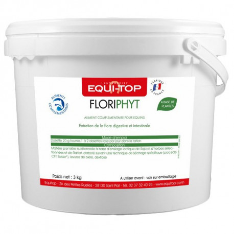 Floriphyt d'Equi-Top - intestin cheval