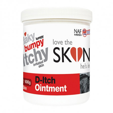 Soin dermite cheval NAF D-Itch Ointment