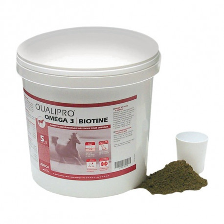Qualipro Omega 3 Biotine