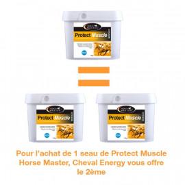 PROMO 1 Seau de Protect Muscle Horse Master acheté, 1 seau offert par Cheval Energy