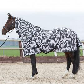 Chemise Anti Mouche Cheval Zebra Noir Harrys Horse
