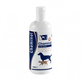 Chaminol Medicated Shampoo TRM Shampoing pour Chien Shampoing Chat