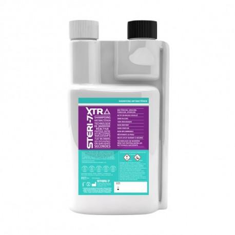 Shampoing pour Chevaux Steri 7 Xtra - Shampoing Antibactérien 1L
