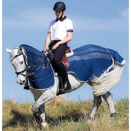 Couvre Rein Couvre Cou Anti Mouche Amigo Flyrider Horseware