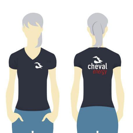 Tshirt femme Cheval Energy