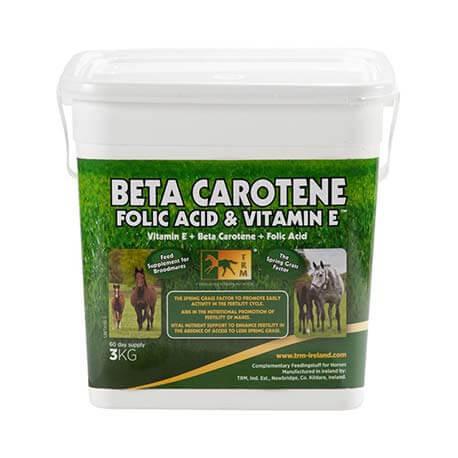 TRM Beta Carotene, Folic Acid & Vitamine E