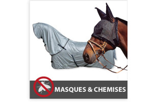 Masque anti-mouches, chemise anti-mouches